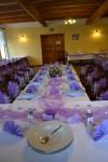 Fialová svatební hostina - 14. 6. 2014